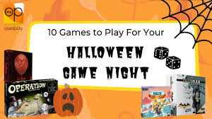Games to Play for Halloween Quarantine